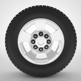 Car wheel automotive concept. 3d high quality render Royalty Free Stock Photo