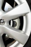 A car wheel with brake Royalty Free Stock Photos