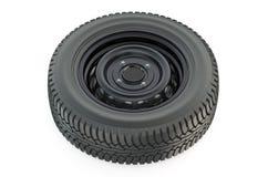 Car wheel closeup Stock Images