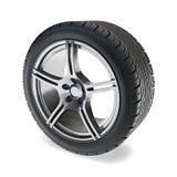 Car Wheel Stock Photography