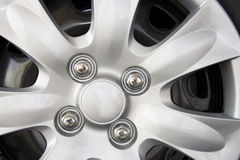 Car wheel detail Royalty Free Stock Images