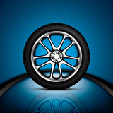 Car wheel Stock Image