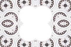 Car wheel riim pattern frame Royalty Free Stock Images