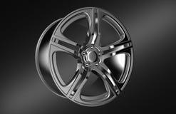 Car wheel rim Royalty Free Stock Image