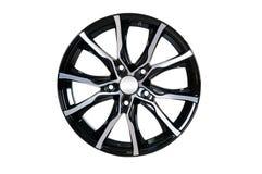 Car wheel Rim isolated on white. Stock Photography