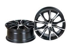 Car wheel Rim  on white. Royalty Free Stock Photos