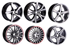 Car Wheel  rims Stock Image