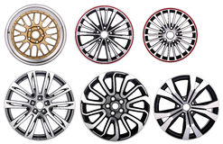 Car Wheel  rims Stock Photography