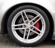Car wheel. Stock Photos