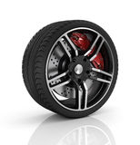 Car wheel. Stock Image