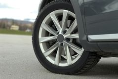 Car wheel Royalty Free Stock Photography