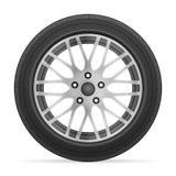 Car wheel tire Royalty Free Stock Photography
