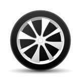Car wheel. Royalty Free Stock Photos