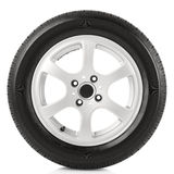 Car wheel royalty free stock photo