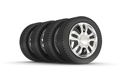 Car Wheels Stock Image