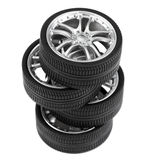 Car wheels Royalty Free Stock Image