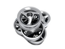 Car wheels Royalty Free Stock Photography