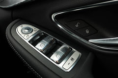 Car window control buttons. Stock Images