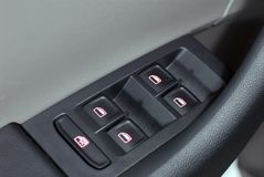 Car window control panel Royalty Free Stock Image