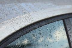 Car window after rain Stock Photos
