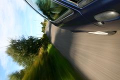 Car window view stock photos