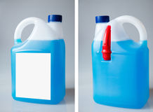 Car window washer fluid Royalty Free Stock Images