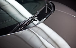 Car windscreen wipers Royalty Free Stock Image