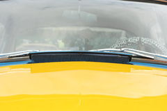Car Windshield Royalty Free Stock Photography