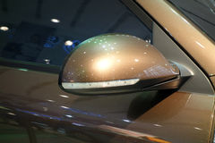 Car Wing Mirror Royalty Free Stock Photography