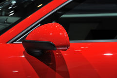 Car Wing Mirror Stock Photography