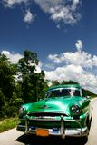Car wintage in Havana cuba Stock Images