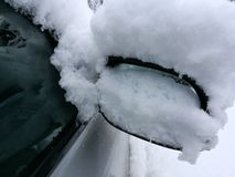 Car in winter Royalty Free Stock Photography