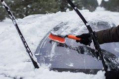 Car on winter Stock Photo