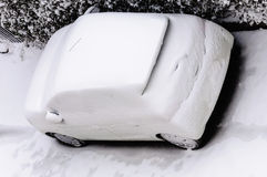 Car winter snow Stock Photography