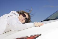 Car woman Stock Photos
