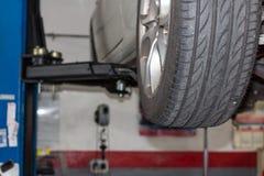 Car workshop Stock Photo