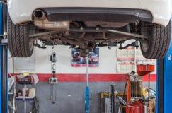 Car workshop Stock Photography