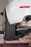 Car workshop Stock Image