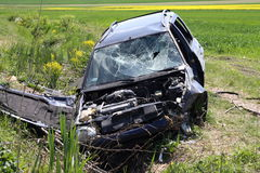 Car wreck Stock Photo