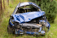 Car wreck Royalty Free Stock Photos