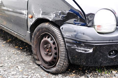 Car wreck. Royalty Free Stock Photography