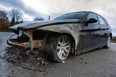 Car wreck Royalty Free Stock Images