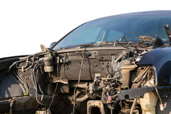 Car wreck Royalty Free Stock Photo