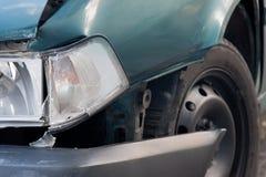 Car wreck detail Stock Image