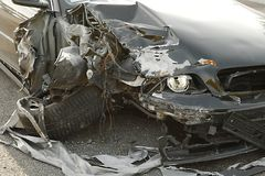 Car Wreck Detail Stock Images