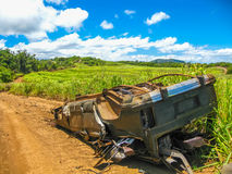 Wreck car royalty free stock photography