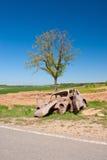 A car wreck Royalty Free Stock Photos