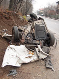 Car wreck Royalty Free Stock Photo