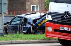 Car wreck Stock Image