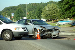 Car Wreck Royalty Free Stock Image